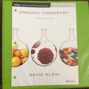 Organic Chemistry by David Klein (3rd Edition)